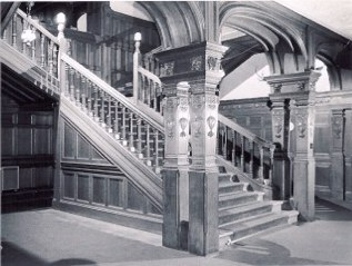 Grand Stair Kinnaird House